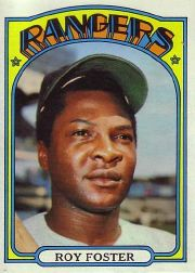 1972 Topps Baseball Cards      329     Roy Foster